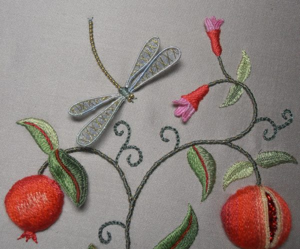 PERSIAN BOUNTY Raised Embroidery