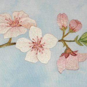 Thread Painting kit 'CHERRY BLOSSOM'