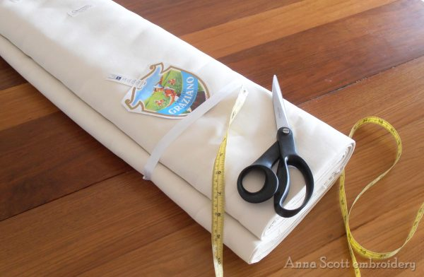 Embroidery Linen 'Graziano'