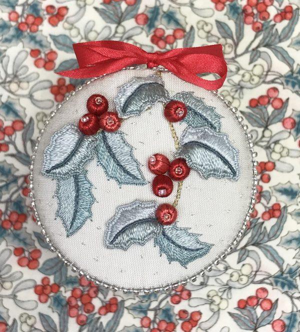 Happy Holly Ornament