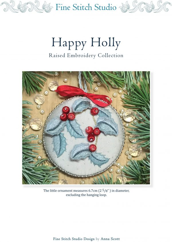 Happy Holly PDF Pattern