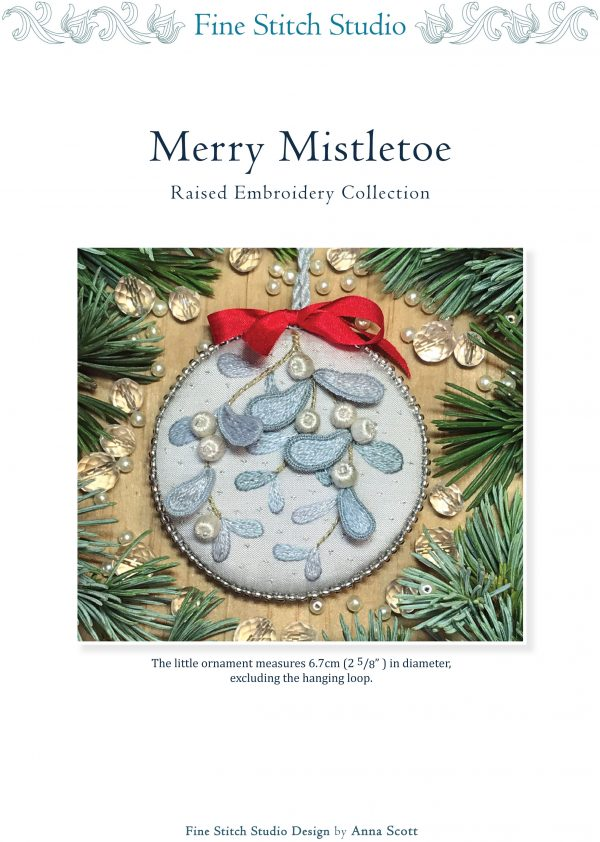 Merry Mistletoe PDF pattern download