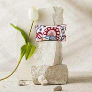 FRAGMENTS pincushion by Anna Scott
